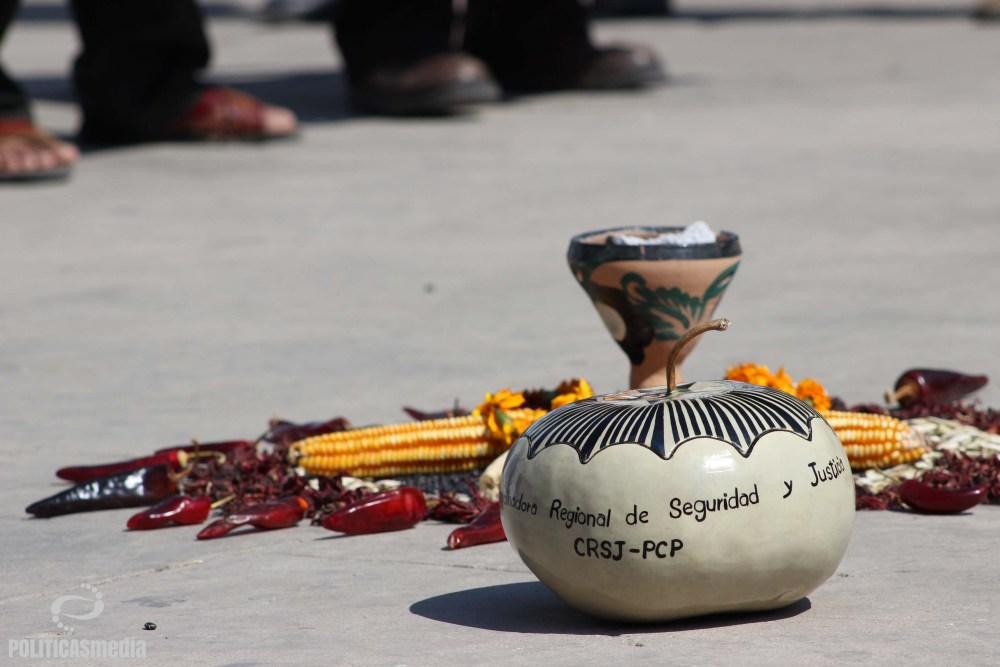 Tlapa de Comonfort, Guerrero, 3er Aniversario de la CRSJ-PCP. | Fotografía: Tiyako Felipe