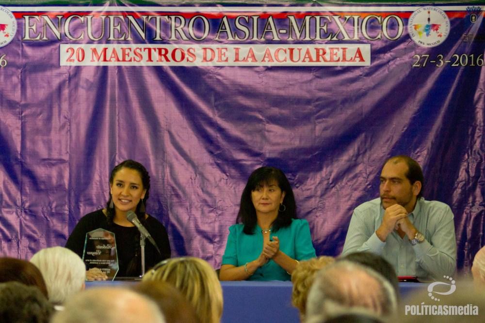 "Encuentro Internacional de Acuarela Asia-México ""Grandes Maestros"" |Foto: Mónica Olivares"