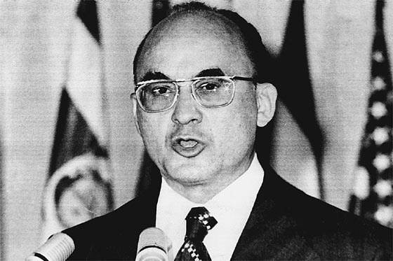 Luis Echeverría Álvarez, presidente de México de 1970 a 1976.