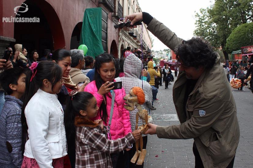 Festival Internacional de Títeres Rosete Aranda 2016. Fotografía: Tiyako Felipe | Políticas Media.
