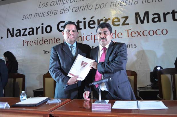 Rogelio Tinoco García (izquierda) y Nazario Gutiérrez Martínez | Fotografía: Lo perspicaz de la noticia