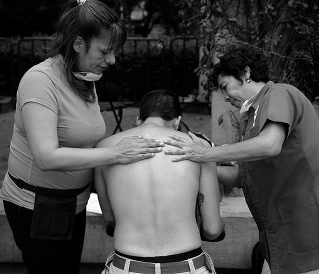 Voluntarios en trabajos de rescate en la Ciudad de México. Fotografía: Chac Nahual