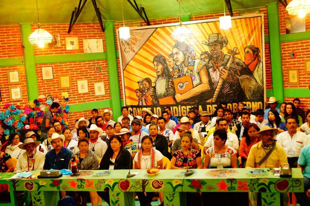 Asamblea Constitutiva del Concejo Indígena de Gobierno, Cideci/Universidad de la Tierra, San Cristóbal de las Casas, Chiapas | Foto: CGT Chiapas