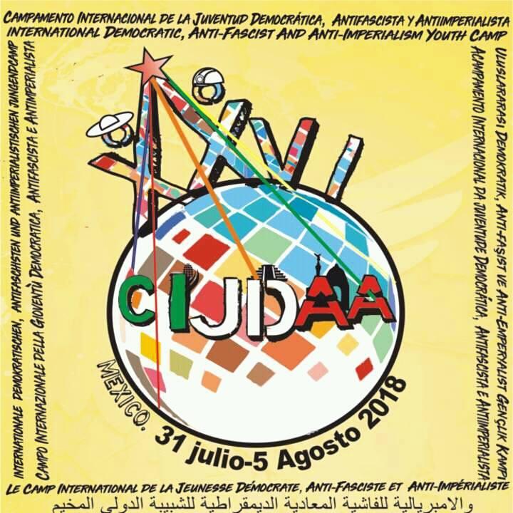 Campamento Nacional de la Juventud Antifascista y Antiimperialista.