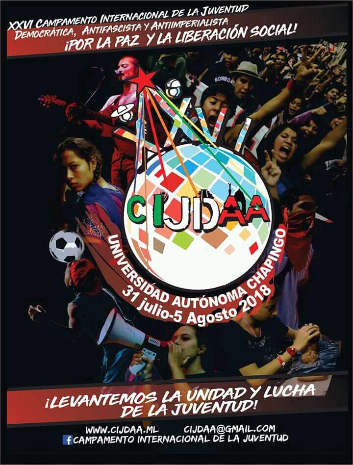 Cartel oficial del CIJDAA 2018.