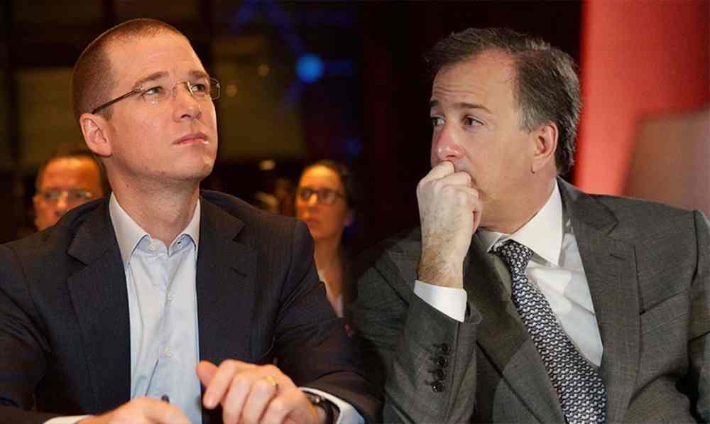 Ricardo Anaya y José Antonio Meade. Foto retomada de La Silla Rota.