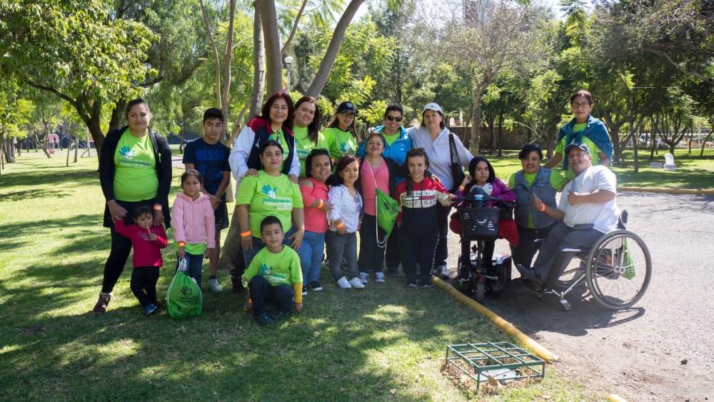 Evento deportivo en el 7° Congreso Nacional de Personas con Talla Baja en Querétaro, 2018. Foto: Paty Olivares.