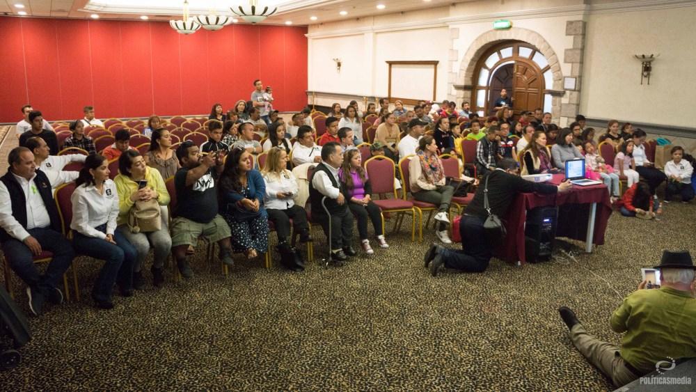Clausura del Congreso Nacional de Personas con Talla Baja en Querétaro, 2018. Foto: Paty Olivares.