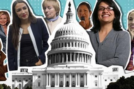 """Gracias al apoyo decisivo de OSC feministas como """"Emily's List"""", la próxima legislatura tendrá entre sus filas a la mayor cantidad de mujeres en toda su historia: 112 asientos en ambas cámaras del Congrteso. Destaca la presencia de la primera mujer bisexual en alcanzar un escaño senatorial (Kyrtsen Sinema, en Arizona), las primeras mujeres de confesión musulmana en ser electas a la Cámara de Representantes (Rashida Talib por Michigan, e Ilhan Omar, por Minnesota); la primer mujer nativoamericana y primer lesbiana en alcanzar una posición en dicha cámara (Sharice Davids, Kansas). También vale la pena mencionar que en un distrito urbano de Nueva York fue electa la persona más joven en la historia de dicha cámara, la feminista y socialista-democrática, la latina de 29 años Alexandria Ocasio-Cortez. En suma, los resultados electorales recientes expresan el arribo de una nueva generación de mujeres y hombres políticos, tratándose de una generación más femenina, más feminista, más diversa, más progresista, más izquierdista. Este resultado fue posible, entre otros factores, a la existencia de OSC como """"Indivisible"""", o """"Emily's List"""" (FUENTE: USA Today) ."""