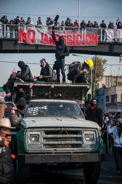 1° de diciembre de 2012, Ciudad de México. | Fotografía: Eneas de Troya