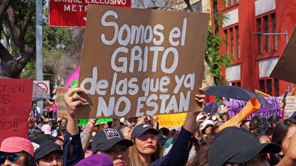 Marcha Día Internacional de la Mujer. Ciudad de México 08 marzo 2020 | Foto: Paty Olivares