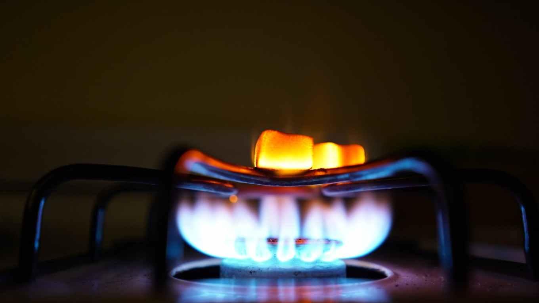 on gas burner