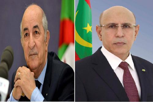 هكذا خاطب رئيس الجمهورية نظيره  الرئيس الجزائري بمناسبة العيد الوطني لبلاده