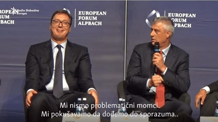 Vučić i Tači se sastali u Beloj kući