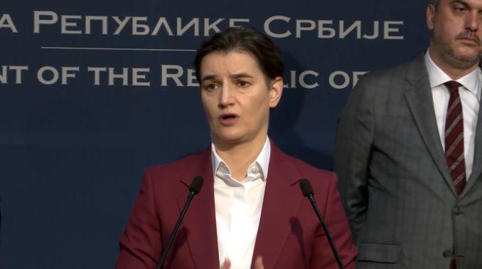 Brnabić: Srbija zatvara sve granice, osim za naše državljane koji se vraćaju