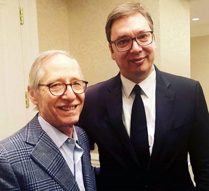 Vučić sa Palmerom u Vašingtonu