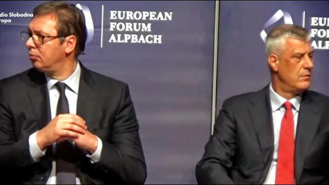 Grenel demantovao da je sa Vučićem i Tačijem razgovarao o podeli Kosova