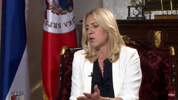Željka Cvijanović najavila uvođenje vanredne situacije u Republici Srpskoj
