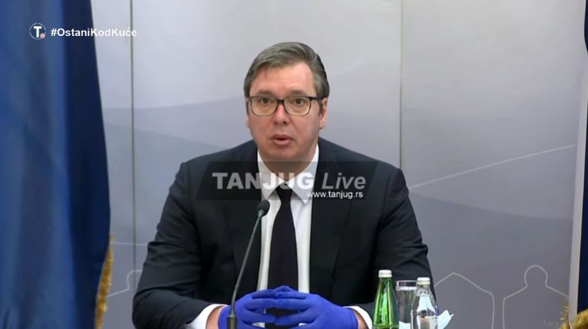 Vučić: Nadam se da ćemo ukinuti vanredno stanje do kraja meseca (VIDEO)