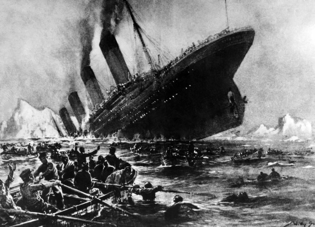 Na današnji dan je potonuo Titanik