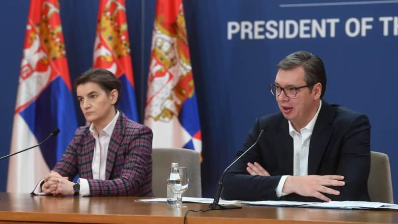 """Krivična prijava protiv Vučića, Ane Brnabić, i Maje Gojković zbog sumnje da su """"izvršili državni udar"""""""