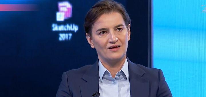 Brnabićeva: Ja sam jedan od kandidata za premijera, SPS preko stranih ambasada pokušava da dobije funkcije