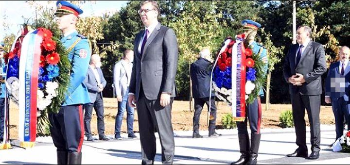 Vučić u Pranjanima: Hvala junačkom srpskom narodu na žrtvi koju je podneo