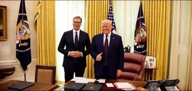 """Dnevni avaz: Vučić je u Vašingtonu prodao ono što je davno izgubljeno, napravio je """"potez svoje političke karijere"""""""