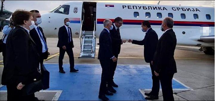 Vučić doputovao u Tursku, sutra sa Erdoganom