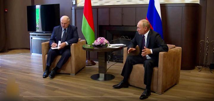 Lukašenko pred Putinom optužio Zapad da hoće da destabilizuje Belorusiju