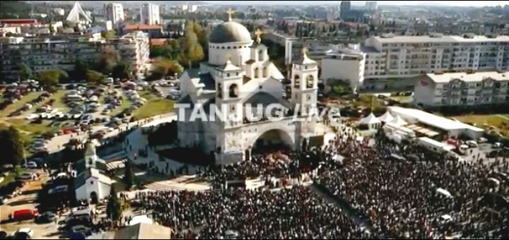 UŽIVO Sahrana mitropolita Amfilohija u podgoričkom hramu: Na poslednjem ispraćaju Vučić, Dodik, Mlađan Đorđević, Mandić, Knežević