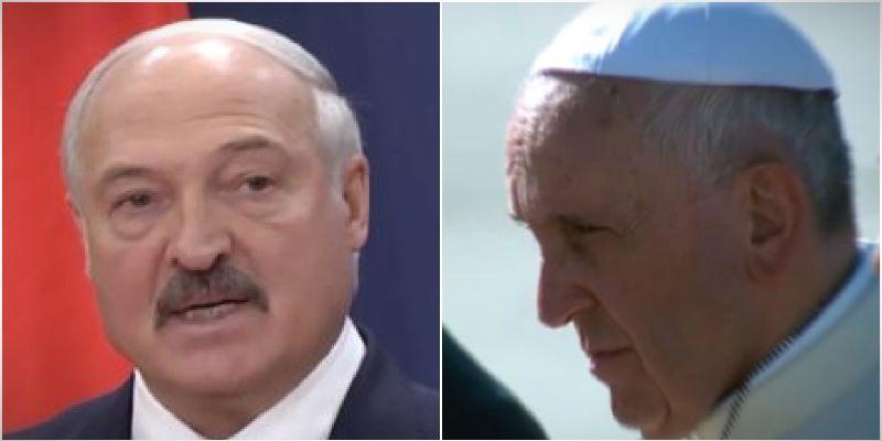 Papa Franja podržao Lukašenka