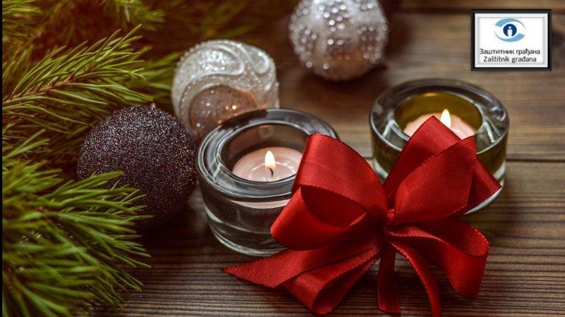 Zaštitnik građana čestitao Božić građanima koji praznik slave po Gregorijanskom kalendaru
