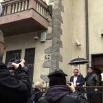 Skup podrške ispred hrvatske ambasade u Beogradu