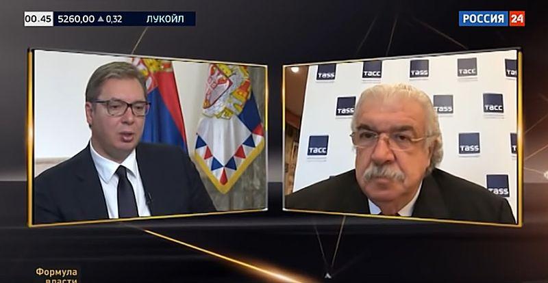 Đorđević: Zašto Vučiću niko u ruskim medijima ne postavlja neprijatna pitanja?