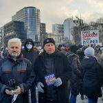 Đorđević na protestu frilensera: Puna podrška frilenserima u borbi protiv nove pljačke režima Aleksandra Vučića