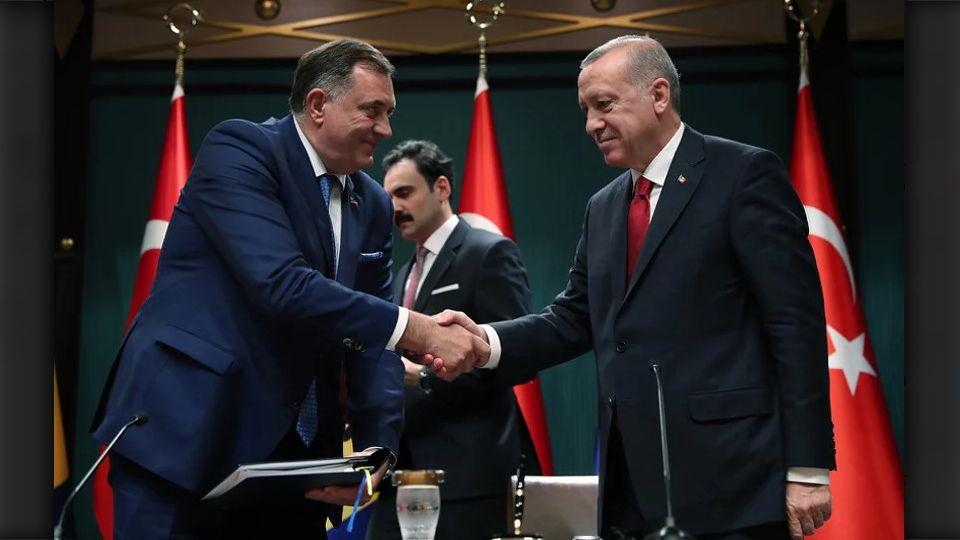 Sporazum o auto-putu Sarajevo–Beograd: Za stolom Dodik i Erdogan