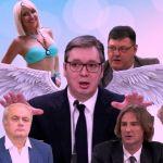 Vučiću NULA minuta kritike na televizijama sa nacionalnom frekvencijom