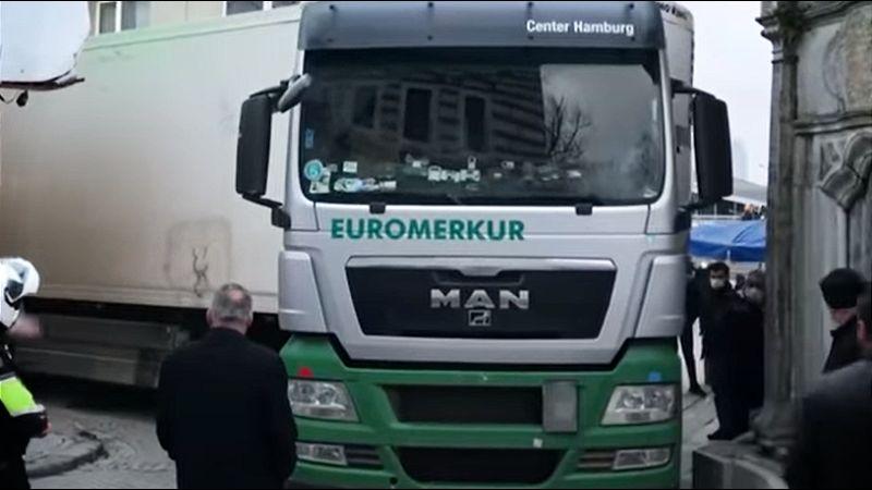 Srpski kamiondžija napravio haos u Istanbulu (VIDEO)