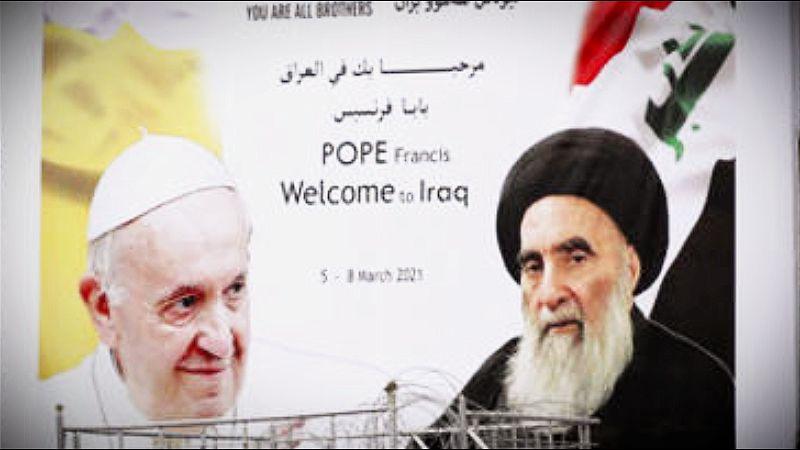 Papa u istorijskoj poseti Iraku
