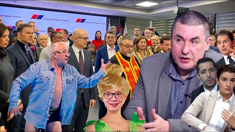 Predrag Popović: Pad histerične tinejdžerke Vučića je počeo, ali Srbija ne sme da čeka da ga s vlasti obore strane službe ili pokojni Cvijan