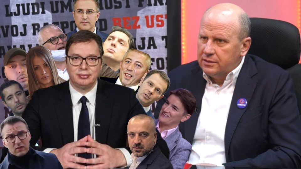 Đorđević: Vučić je oko sebe okupio ljude koji bi bez njega, ili mimo njega, bili NIŠTA