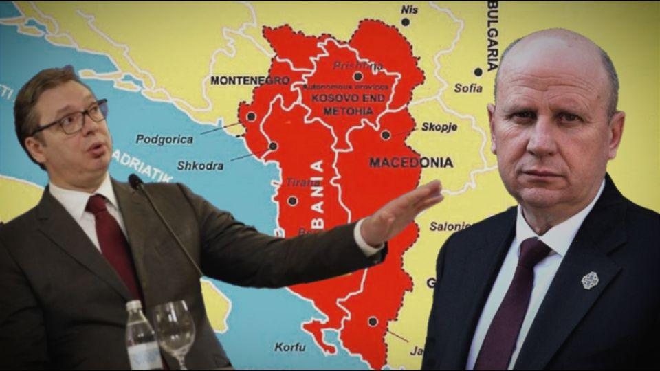 Đorđević: Šta se sprema da pravi Vučić – Veliku Srbiju ili Veliku Albaniju