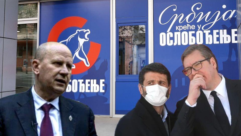 Šapića brane Vučićevi botovi: Mlađa Đorđević dirnuo u osinjak (FOTO)