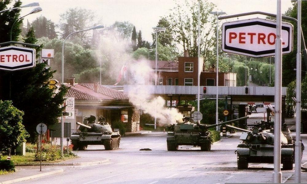 Na današnji dan je 1991. započeo šestodnevni rat u Sloveniji