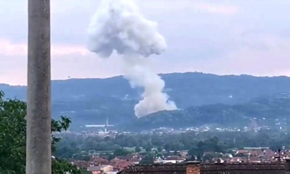 """Ponovo eksplozija u """"Slobodi"""" Čačak, troje povređenih, evakuisani građani"""
