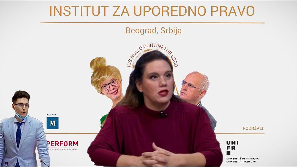 """Mina Zirojević nova UDARNA PESNICA SNS: """"Doktorka"""" optužena za nasilje i pretnje ubistvom, """"stručnjak"""" za beton, terorizam i DNK, na zadatku uništavanja školstva i univerziteta, ostataka morala i kvarenju odnosa sa SAD i EU?"""