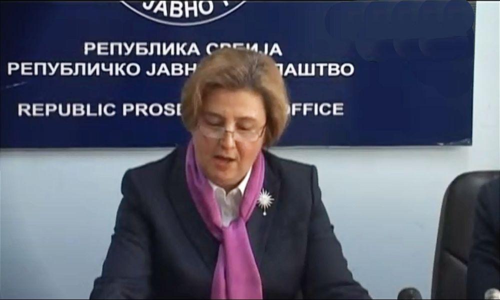 Tužilac Milovanović: Sporna procedura za izbor Zagorke Dolovac