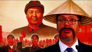 """Dankovi aФorИzmN: Pali sa Marksa i ,,Kapitala"""" se odlično snašli u neolibaralnom kapitalu. U potpisu: ПРЦ (People's Republic of China)"""