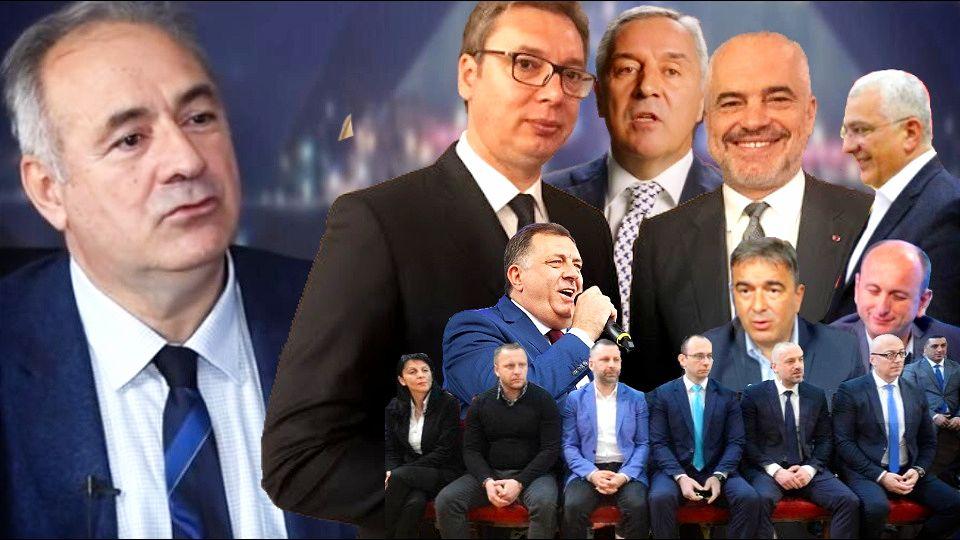 Lompar: Vučić će početi da trguje interesima Srba u Crnoj Gori i Republici Srpskoj?
